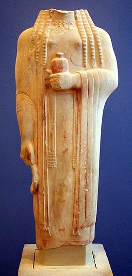 Athenian Akropolis Kore 593